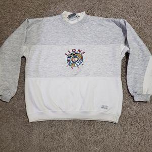 90s Lions International Club Vintage Sweat Shirt